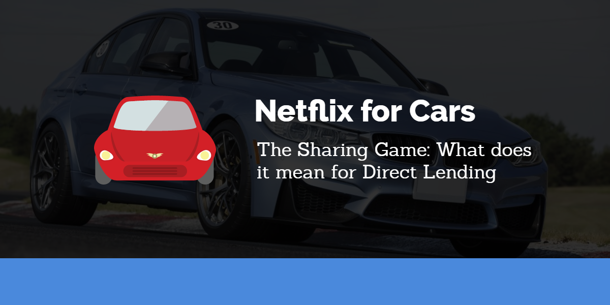 How the Sharing Game could affect Direct Lending